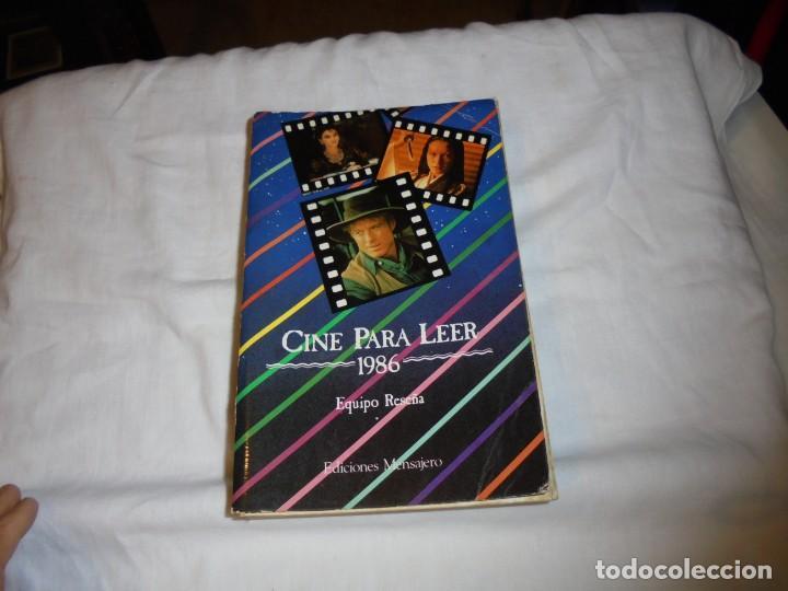 CINE PARA LEER AÑO 1986 (Cine - Revistas - Otros)
