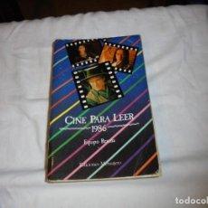 Cine: CINE PARA LEER AÑO 1986. Lote 224120948