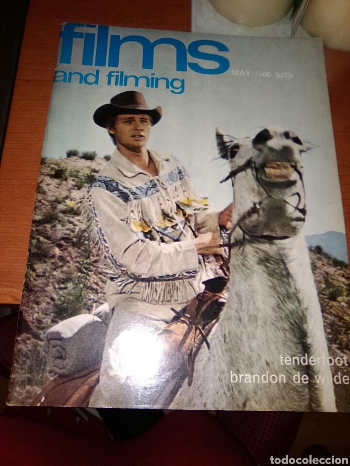 FILMS AND FILMING-REVISTA CINE-MAYO-1966-PORTADA BRANDON DE WILDE- (Cine - Revistas - Film Ideal)