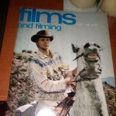 Cine: FILMS AND FILMING-REVISTA CINE-MAYO-1966-PORTADA BRANDON DE WILDE-. Lote 224124381