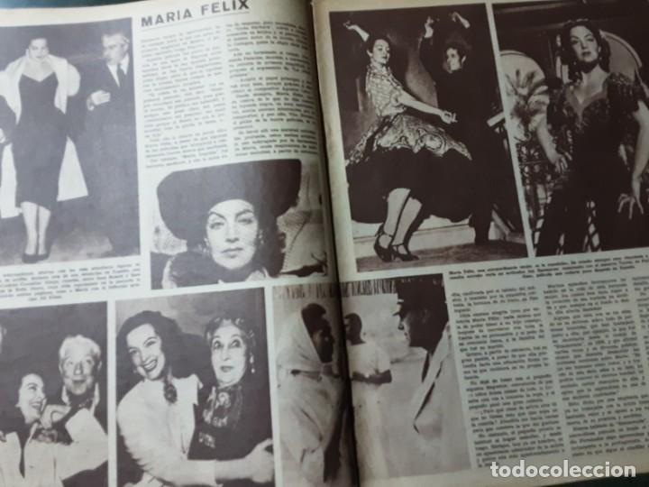 Cine: REVISTA CINE EN 7 DIAS, N⁰ 54 ABRIL 1962, CLAUDIA CARDINALE, MARIA FÉLIX, CHARLOT VISTO POR CHAPLIN - Foto 2 - 224241498