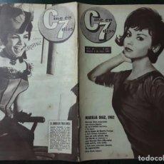 Cine: REVISTA CINE EN 7 DIAS, N⁰ 56 MAYO 1962 MARUJITA DÍAZ , CHARLOT VISTO POR CHAPLIN IV. Lote 224242616