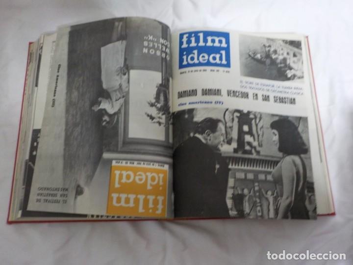 Cine: CUATRO TOMOS ENCUADERNADOS CON REVISTAS FILM IDEAL.AÑOS 60. - Foto 24 - 224583601