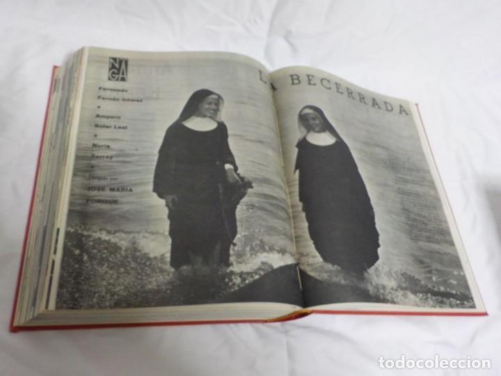 Cine: CUATRO TOMOS ENCUADERNADOS CON REVISTAS FILM IDEAL.AÑOS 60. - Foto 3 - 224583601