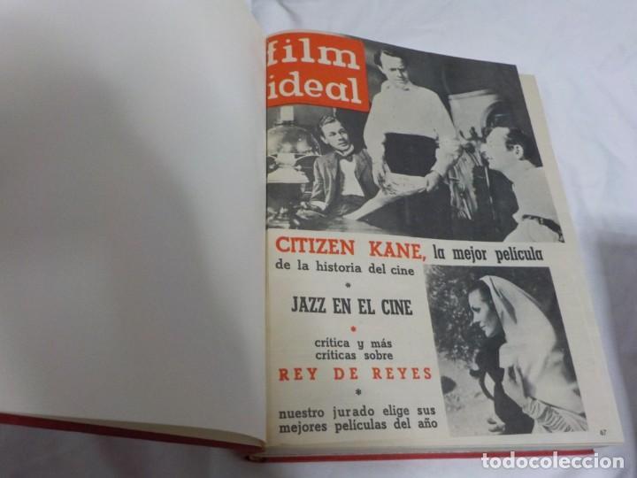 Cine: CUATRO TOMOS ENCUADERNADOS CON REVISTAS FILM IDEAL.AÑOS 60. - Foto 4 - 224583601