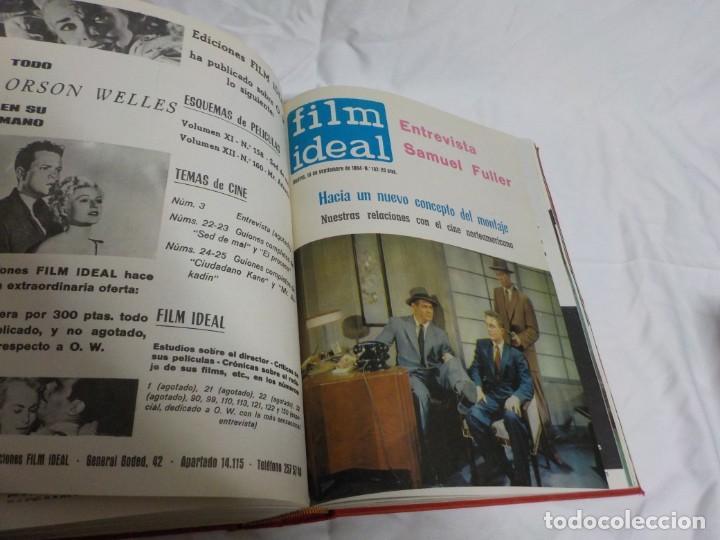 Cine: CUATRO TOMOS ENCUADERNADOS CON REVISTAS FILM IDEAL.AÑOS 60. - Foto 6 - 224583601