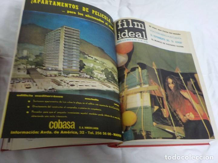Cine: CUATRO TOMOS ENCUADERNADOS CON REVISTAS FILM IDEAL.AÑOS 60. - Foto 8 - 224583601