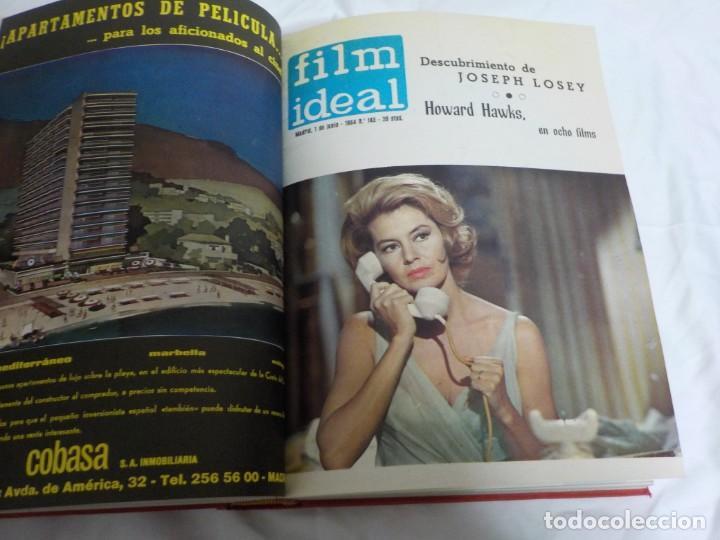 Cine: CUATRO TOMOS ENCUADERNADOS CON REVISTAS FILM IDEAL.AÑOS 60. - Foto 9 - 224583601