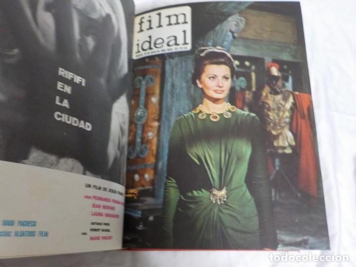 Cine: CUATRO TOMOS ENCUADERNADOS CON REVISTAS FILM IDEAL.AÑOS 60. - Foto 10 - 224583601