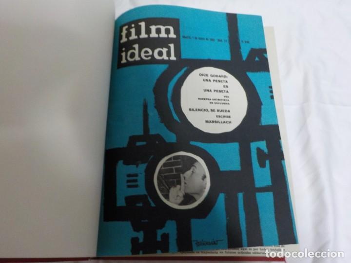 Cine: CUATRO TOMOS ENCUADERNADOS CON REVISTAS FILM IDEAL.AÑOS 60. - Foto 12 - 224583601