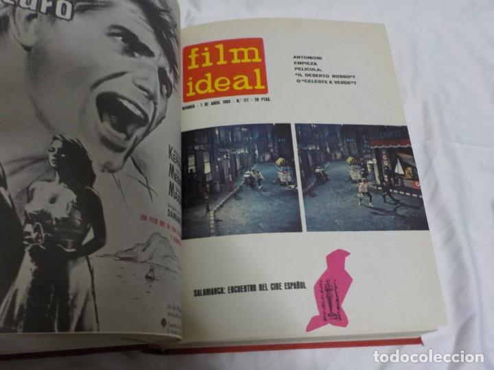 Cine: CUATRO TOMOS ENCUADERNADOS CON REVISTAS FILM IDEAL.AÑOS 60. - Foto 13 - 224583601