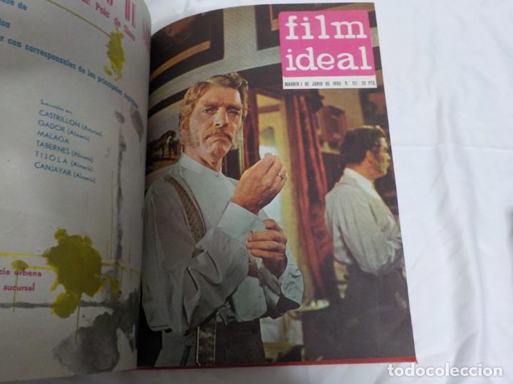 Cine: CUATRO TOMOS ENCUADERNADOS CON REVISTAS FILM IDEAL.AÑOS 60. - Foto 15 - 224583601