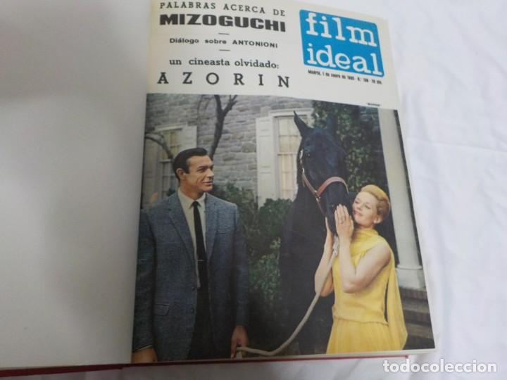 Cine: CUATRO TOMOS ENCUADERNADOS CON REVISTAS FILM IDEAL.AÑOS 60. - Foto 17 - 224583601