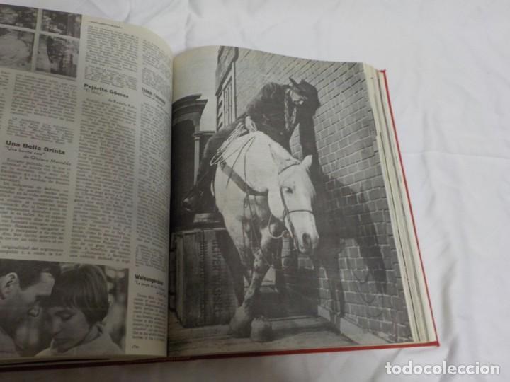Cine: CUATRO TOMOS ENCUADERNADOS CON REVISTAS FILM IDEAL.AÑOS 60. - Foto 18 - 224583601