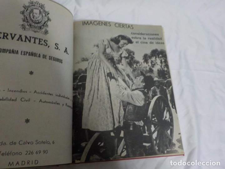 Cine: CUATRO TOMOS ENCUADERNADOS CON REVISTAS FILM IDEAL.AÑOS 60. - Foto 19 - 224583601