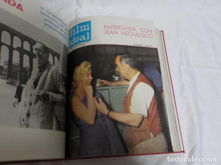Cine: CUATRO TOMOS ENCUADERNADOS CON REVISTAS FILM IDEAL.AÑOS 60. - Foto 20 - 224583601
