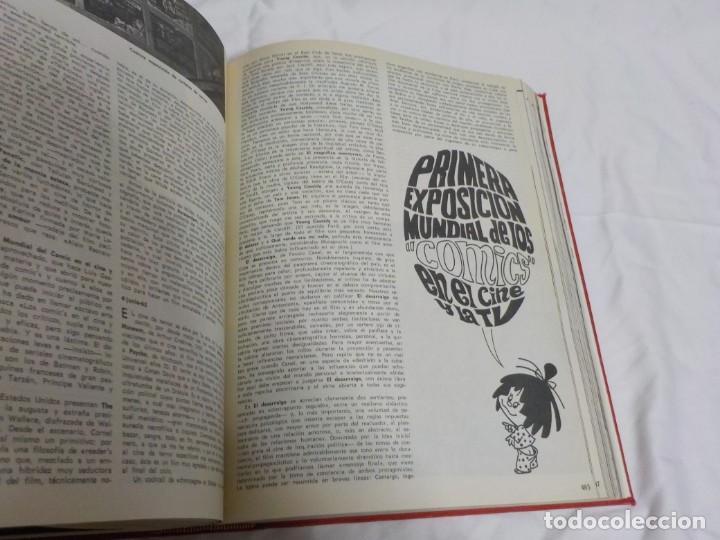 Cine: CUATRO TOMOS ENCUADERNADOS CON REVISTAS FILM IDEAL.AÑOS 60. - Foto 22 - 224583601