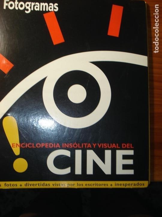 FOTOGRAMAS ENCICLOPEDIA INSÓLITA Y VISUAL DEL CINE (Cine - Revistas - Fotogramas)