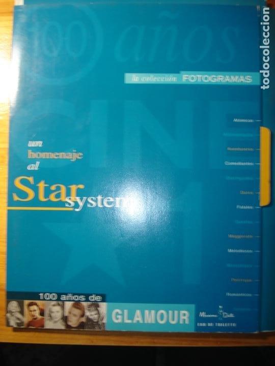 FOTOGRAMAS HOMENAJE AL STAR SYSTEM GLAMOUR Y LA OTRA CARA DEL GLAMOUR (Cine - Revistas - Fotogramas)