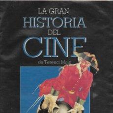 Cine: LA GRAN HISTORIA DEL CINE DE TERENCI MOIX CAPITULO 75. Lote 224747496