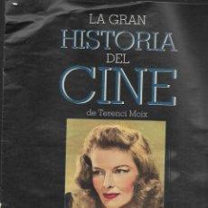 Cine: LA GRAN HISTORIA DEL CINE DE TERENCI MOIX CAPITULO 58. Lote 224751927