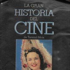 Cine: LA GRAN HISTORIA DEL CINE DE TERENCI MOIX CAPITULO 40. Lote 224752800