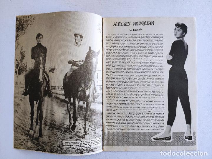 Cine: REVISTA PARA MAYORES - COLECCIÓN CINECOLOR nº 15 - AUDREY HEPBURN - Año 1958 - Foto 2 - 224897457