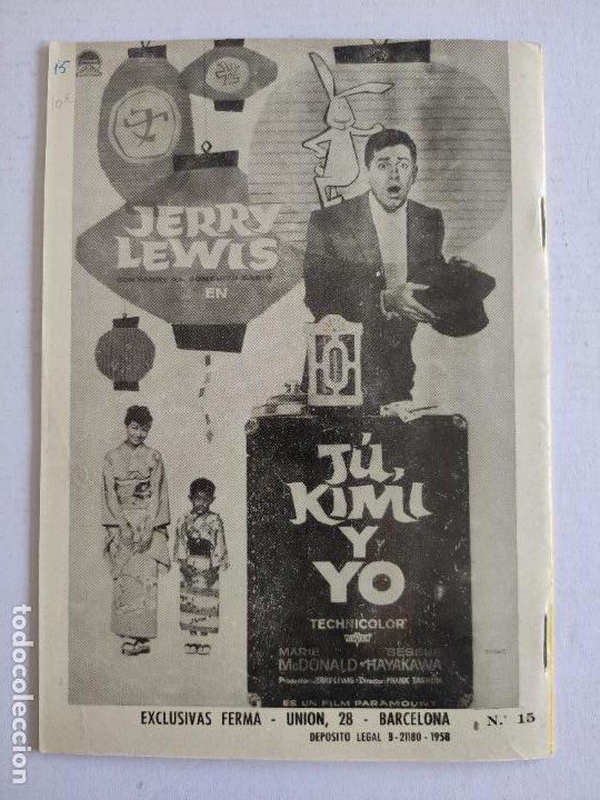 Cine: REVISTA PARA MAYORES - COLECCIÓN CINECOLOR nº 15 - AUDREY HEPBURN - Año 1958 - Foto 4 - 224897457