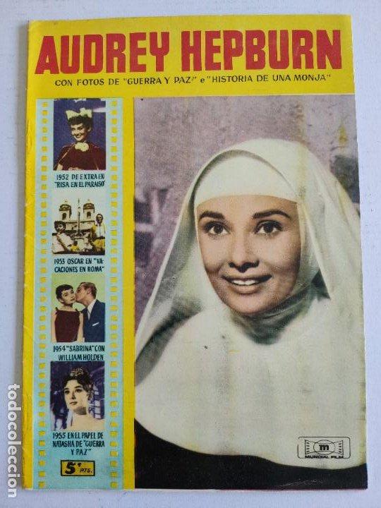 REVISTA PARA MAYORES - COLECCIÓN CINECOLOR Nº 15 - AUDREY HEPBURN - AÑO 1958 (Cine - Revistas - Cinecolor)