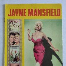 Cine: REVISTA PARA MAYORES - COLECCIÓN CINECOLOR - JAYNE MANSFIELD - AÑO 1958. Lote 224898363