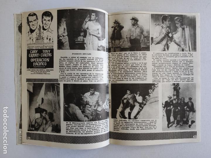 Cine: REVISTA PARA MAYORES - COLECCIÓN CINECOLOR, nº 21 - TONY CURTIS - Año 1958 - Foto 3 - 224898663