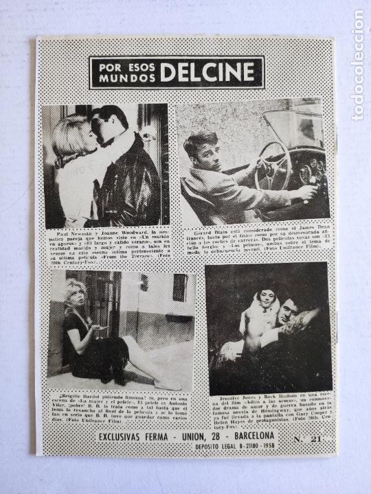 Cine: REVISTA PARA MAYORES - COLECCIÓN CINECOLOR, nº 21 - TONY CURTIS - Año 1958 - Foto 4 - 224898663