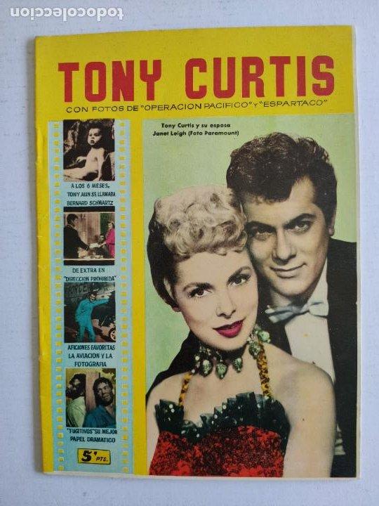 REVISTA PARA MAYORES - COLECCIÓN CINECOLOR, Nº 21 - TONY CURTIS - AÑO 1958 (Cine - Revistas - Cinecolor)
