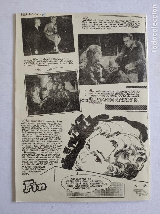 Cine: REVISTA PARA MAYORES - COLECCIÓN CINECOLOR, nº 18 - KIM NOVAK - Año 1958 - Foto 4 - 224898881