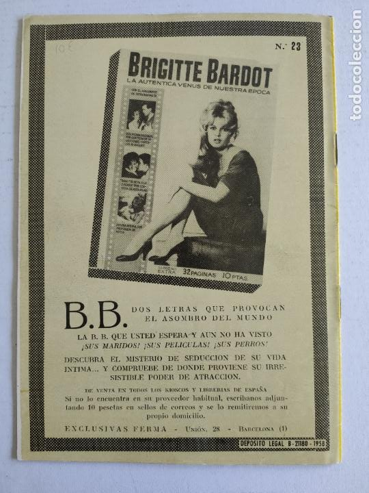 Cine: REVISTA PARA MAYORES - COLECCIÓN CINECOLOR, nº 23 - ANITA EKBERG - Año 1958 - Foto 4 - 224899086