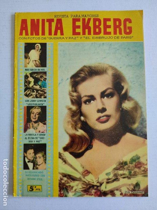 REVISTA PARA MAYORES - COLECCIÓN CINECOLOR, Nº 23 - ANITA EKBERG - AÑO 1958 (Cine - Revistas - Cinecolor)