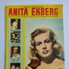 Cine: REVISTA PARA MAYORES - COLECCIÓN CINECOLOR, Nº 23 - ANITA EKBERG - AÑO 1958. Lote 224899086