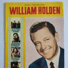 Cine: REVISTA PARA MAYORES - COLECCIÓN CINECOLOR, Nº 30 - WILLIAM HOLDEN - AÑO 1958. Lote 224899286