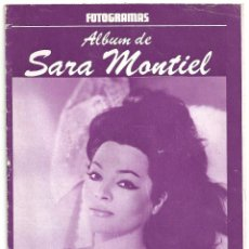 Cine: AAQ02 SARA MONTIEL SUPLEMENTO REVISTA ESPAÑOLA FOTOGRAMAS ALBUM DE Nº 25. Lote 225018690