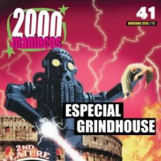 Cine: 2000 MANIACOS- Nº41- ESPECIAL GRINDHOUSE. Lote 244727550