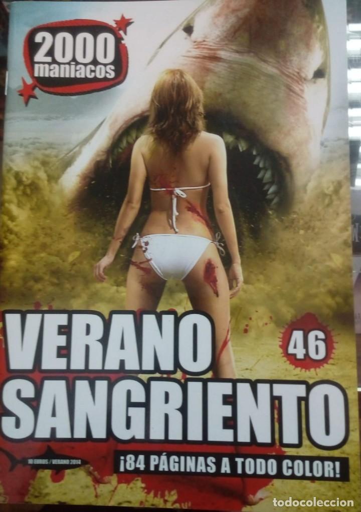 2000 MANIACOS- Nº46- ESPECIAL VERANO SANGRIENTO (VERANO 2014) (Cine - Revistas - Otros)