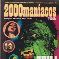 Cinema: 2000 MANÍACOS 22 - ESPECIAL CINE FANTÁSTICO MEXICANO. Lote 225098315