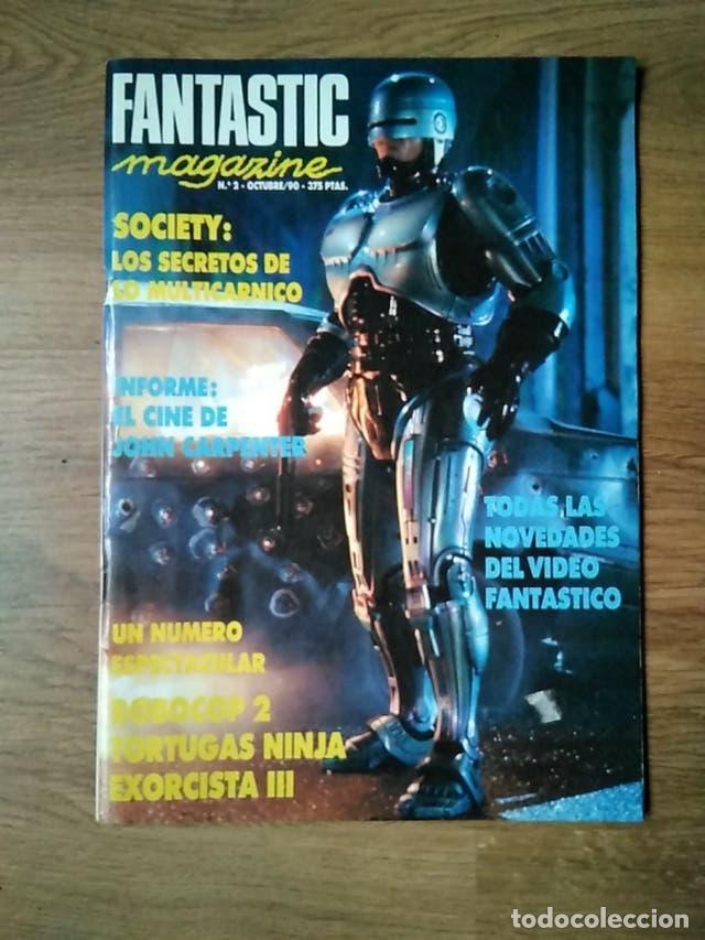 FANTÁSTIC MAGAZINE - N 2 - ROBOCOP - SOCIETY - TORTUGAS NINJA - JOHN CARPENTER (Cine - Revistas - Otros)