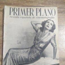 Cinema: MFF.- PRIMER PLANO.- REVISTA ESPAÑOLA DE CINEMATOGRAFIA.- Nº.135- 16 MAYO 1943.- FRANCESCA BERTINI.-. Lote 225187090