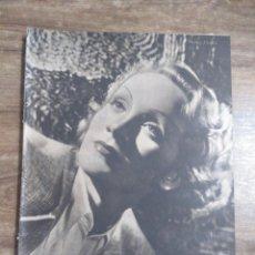 Cinema: MFF.- PRIMER PLANO.- REVISTA ESPAÑOLA DE CINEMATOGRAFIA.- Nº.44- 17 AGOSTO 1941.- MARLENE DIETRICH.-. Lote 225198296