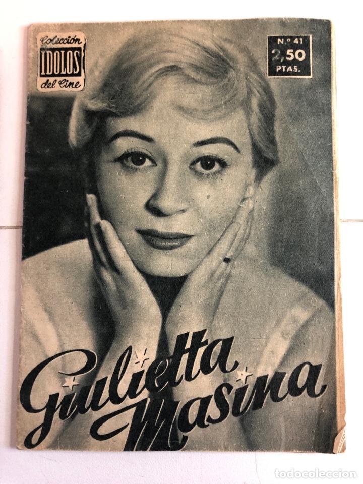 Cine: Colección ídolos del cine (lote de 6) números 30,37,39,41,42,51, - Foto 4 - 225241475