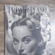 Cine: MFF.- PRIMER PLANO.- REVISTA ESPAÑOLA DE CINEMATOGRAFIA.- Nº.49- 31 AGOSTO 1941.- CAROLE LOMBARD.-. Lote 225278380