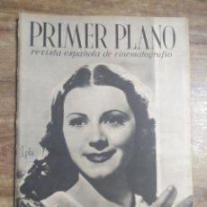 Cine: MFF.- PRIMER PLANO.- REVISTA ESPAÑOLA DE CINEMATOGRAFIA.- Nº.60-7 DICIEMBRE 1941.- ESTHER FERNANDEZ.. Lote 225279850