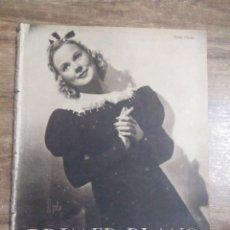 Cine: MFF.- PRIMER PLANO.- REVISTA ESPAÑOLA DE CINEMATOGRAFIA.- Nº.31- 18 MAYO 1941.- SONJA HENIE.-. Lote 225280430