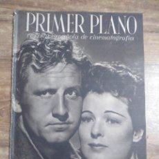 Cine: MFF.- PRIMER PLANO.- REVISTA ESPAÑOLA DE CINEMATOGRAFIA.- Nº.33- 1 JUNIO 1941.- SPENCER TRACY Y RUTH. Lote 225331010